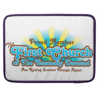 Primera iglesia funda para macbook pro