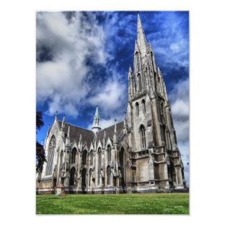 Primera iglesia HDR, Dunedin, Nueva Zelanda Fotografías