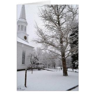 Primera iglesia parroquial, pueblo de York, Maine Tarjeta De Felicitación