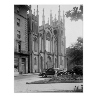 Primera iglesia presbiteriana, New Orleans, 1938 Póster