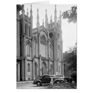 Primera iglesia presbiteriana, New Orleans, los añ Tarjeta De Felicitación
