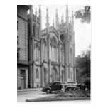 Primera iglesia presbiteriana, New Orleans, los añ Postal