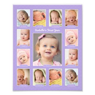 Primera impresión del collage del recuerdo de la f fotografia