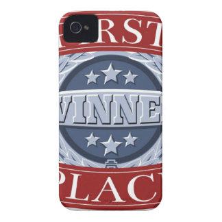 Primera insignia de los ganadores del lugar iPhone 4 Case-Mate carcasa