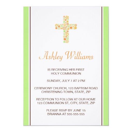 Primera invitación de la comunión de la cruz