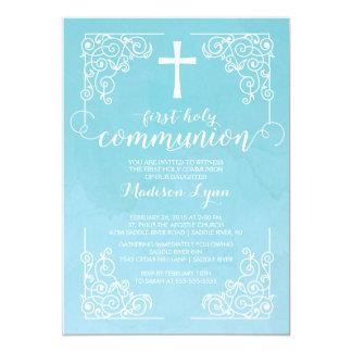 Primera invitación de la comunión santa de la