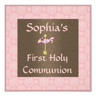 Primera invitación de la comunión santa de los