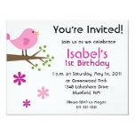 primera invitación del cumpleaños