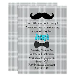 Primera invitación del cumpleaños del pequeño