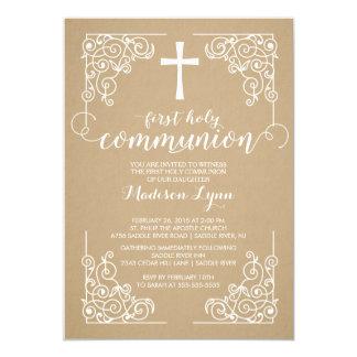 Primera invitación moderna de la comunión santa de