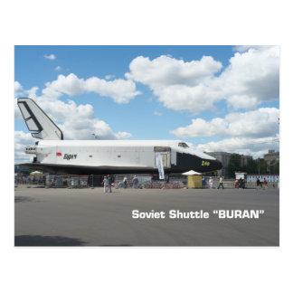 Primera lanzadera soviética Buran Tarjetas Postales