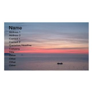 Primera luz plantillas de tarjetas de visita