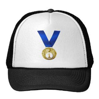 Primera medalla del lugar gorro