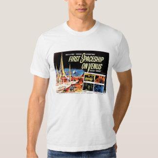 """""""Primera nave espacial en camiseta de Venus"""" Playeras"""
