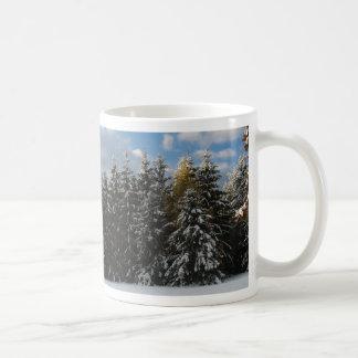 Primera nieve 2009 taza de café