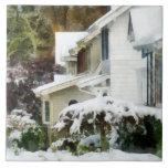 Primera nieve tejas  cerámicas