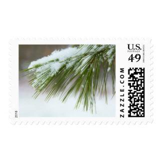 Primera nieve timbres postales