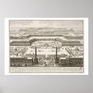 Primera oferta para el palacio de Schonbrunn, Vien Posters