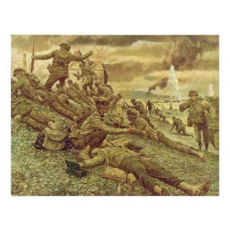 Primera onda en Omaha por la Segunda Guerra Cojinete