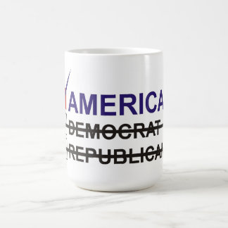 Primera opción del americano tazas de café