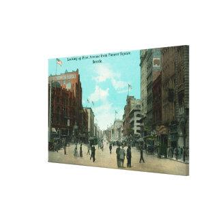 Primera opinión de la avenida de la avenida pioner impresiones en lona estiradas