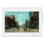 Primera opinión de la avenida de la avenida pioner tarjeta de felicitación