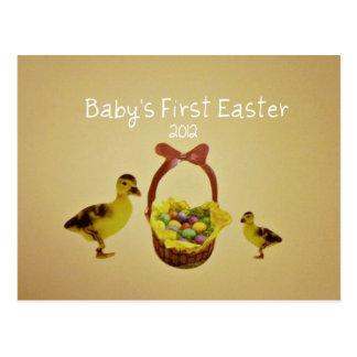 Primera Pascua 2012 del bebé Postales