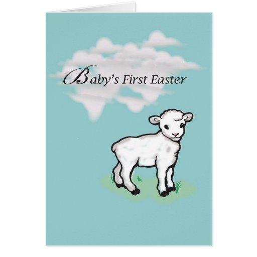 Primera Pascua de 3831 bebés Tarjetas