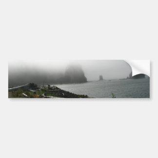 Primera playa pegatina de parachoque