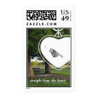 Primera publicación sellos postales