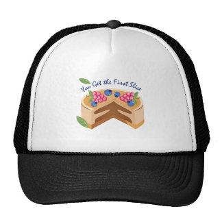 Primera rebanada gorras de camionero