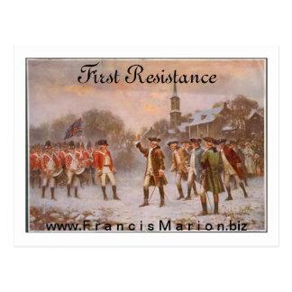 Primera resistencia postales
