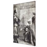 Primera reunión de Edward IV y de señora Elizabeth Lona Envuelta Para Galerías