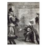 Primera reunión de Edward IV y de señora Elizabeth Postales
