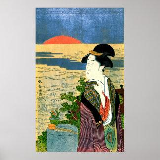 Primera salida del sol 1790 póster