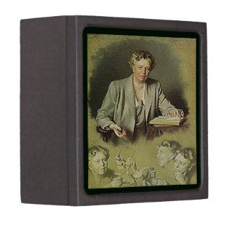 Primera señora Ana Eleanor Roosevelt Cajas De Recuerdo De Calidad