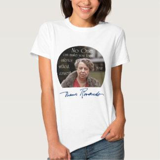 Primera señora de Eleanor Roosevelt del mundo Playeras