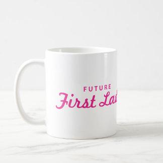 Primera señora del futuro taza
