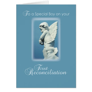 Primera tarjeta de la reconciliación para el