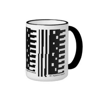 Primera taza de café del funcionario GX Jupitter-L