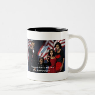 Primera taza de la familia de Obama 44.o