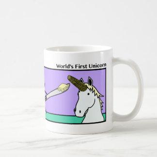 Primera taza de Stickman del unicornio del mundo
