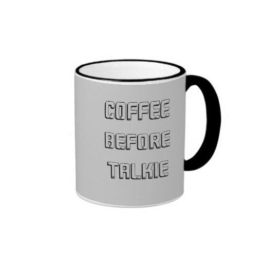 Primera taza del café