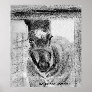 Primera vez hacia fuera, por Lucinda Knowlton Posters