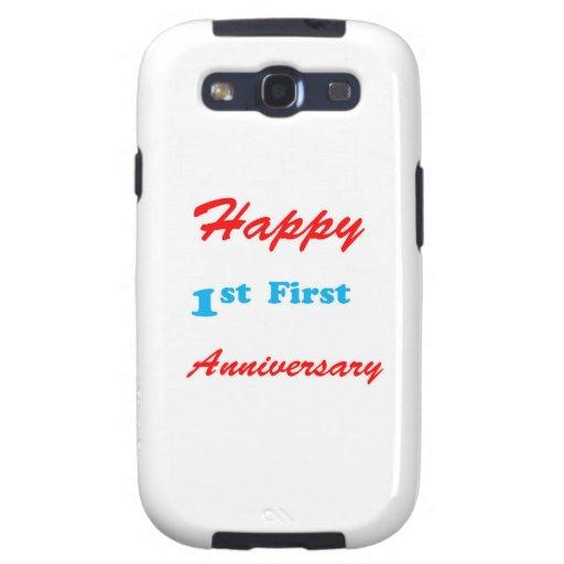 Primeras 1ras celebraciones FELICES de las Galaxy SIII Cárcasas
