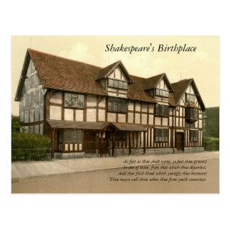 Primeras 4 líneas de soneto # 11 de Shakespeare Postales