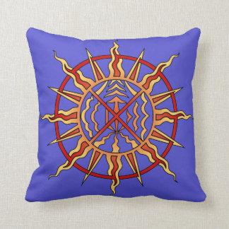 Primeras almohadas del arte de las naciones de la