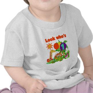 Primeras camisetas y regalos del cumpleaños del sa