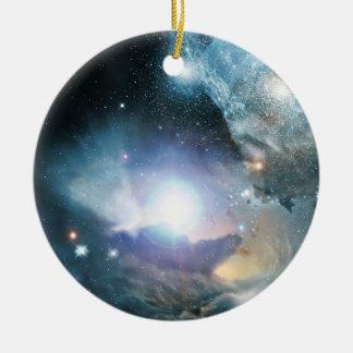 Primeras estrellas ornamento de navidad