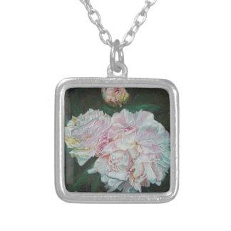 Primeras floraciones 2012 collar plateado